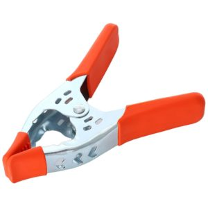 6 Inch Orange Tip Metal Spring Clamp