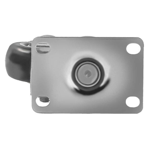 3 inch Black PU Swivel Caster No Brake
