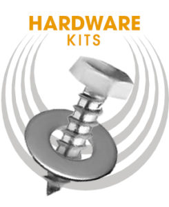 Caster Wheels Hardware Kit Bolts and Washer