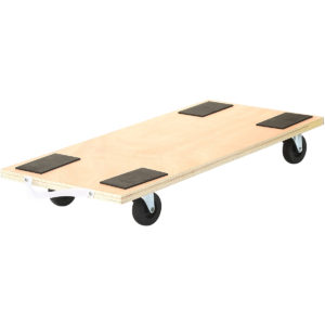23x12 Inch Dolly Moving Cart Platform 450LB Rectangle Wood Mover Platforms