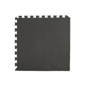 """96 Pack 12""""x12"""" Interlocking Black Foam Floor Mats Exercise Puzzle Tiles"""