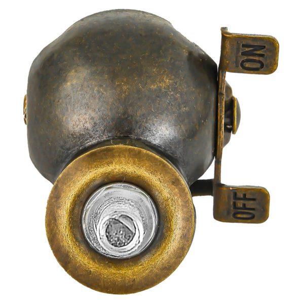 1.5 inch Black PU Swivel Polyurethane Vintage Ball Wheel Stem Caster With Brake